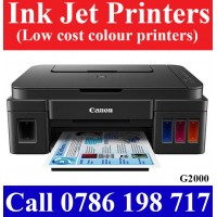 Canon G2000 ink tank printer with scan, copy, print, wifi