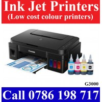 Canon PIXMA G3000 Ink Tank Printer price in Sri Lanka