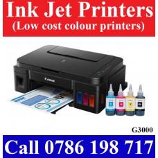 Canon PIXMA G3000 Ink Tank Printer price in Sri Lanka