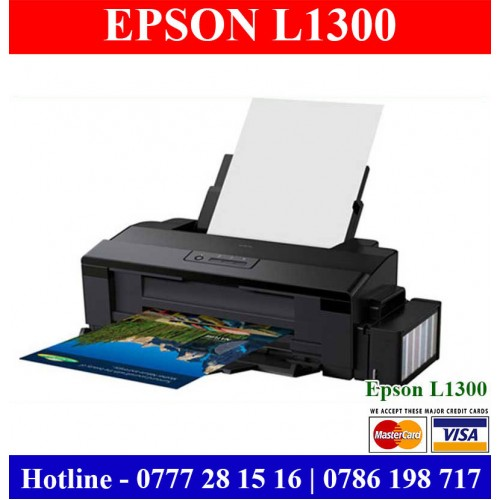 Epson L1300 Printers Sri Lanka | A3 Colour Printers Sri Lanka