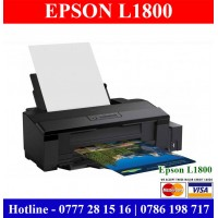 Epson L1800 A3 size Photo Printer Price in Sri Lanka. Epson Photo Printer Price