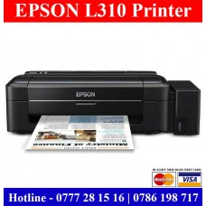 Epson L310 Printer Price Sri Lanka. Epson L310 colour ink tank printer