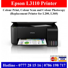 Epson L3110 Printer Price in Sri Lanka | L3110 Multi Function Printer