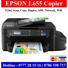 Epson L655 Printers Sri Lanka | Duplex Colour Photocopy Machines Sri Lanka