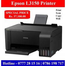 Epson L3150 Printer Price in Sri Lanka. Epson L3150 Wifi Printer with photocopy