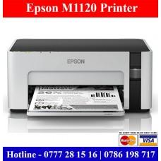 Epson M1120 Wifi Printers Sri Lanka   Low cost Refill Ink Tank wifi Printers