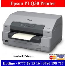 Epson PLQ30 Passbook Printers price Sri Lanka