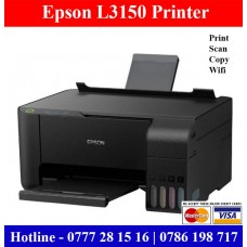 Epson L3150 Printer Price in Sri Lanka. Epson L3150 Wifi Printer with photocopy